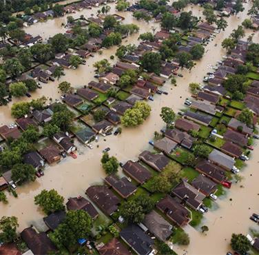 Localized flooding